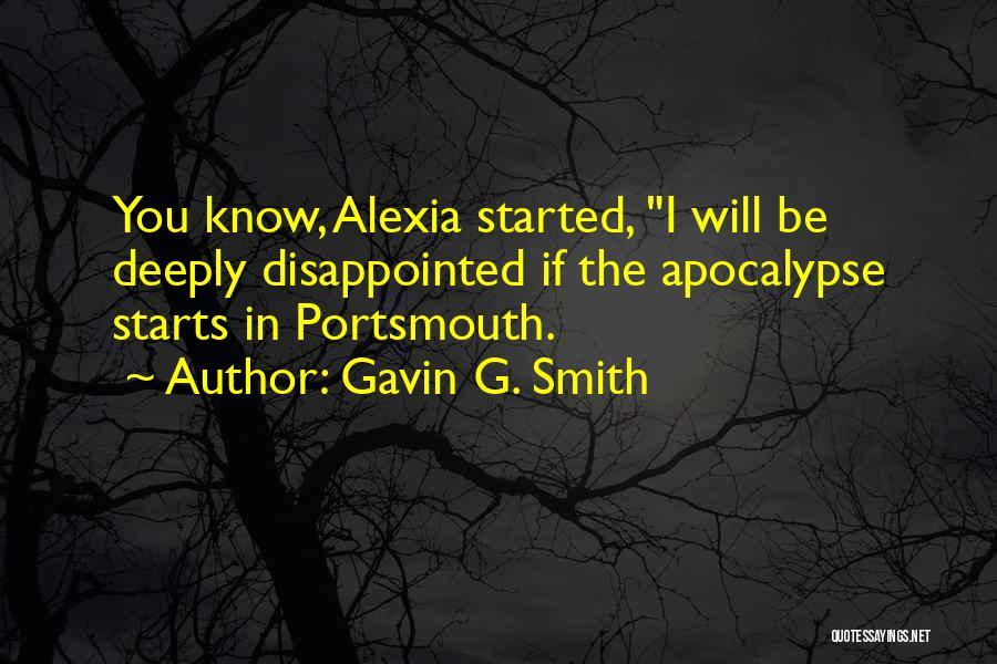 Alexia Quotes By Gavin G. Smith
