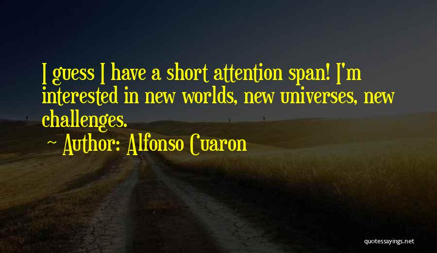 Alfonso Cuaron Quotes 1130636