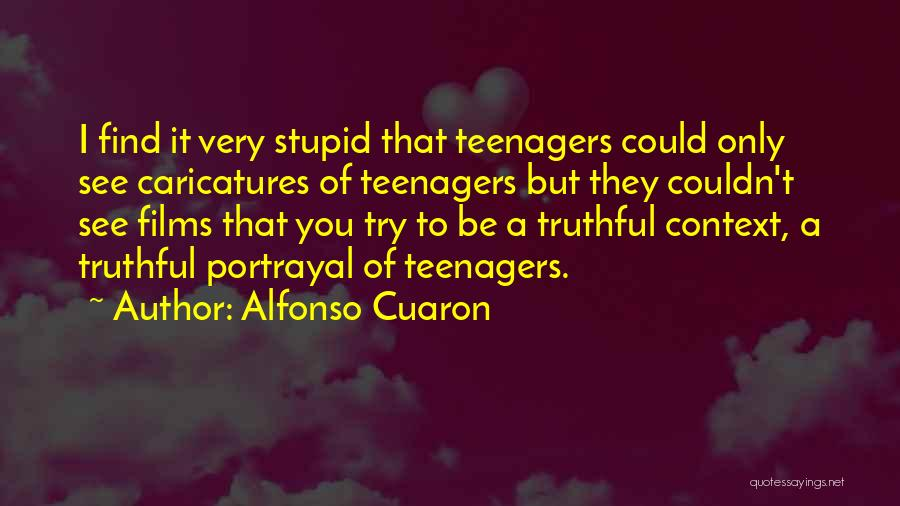 Alfonso Cuaron Quotes 1633316