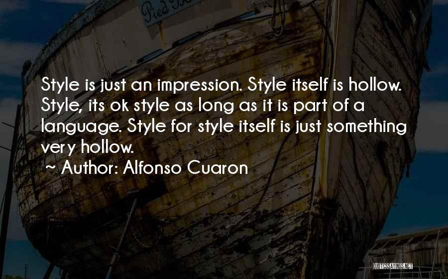 Alfonso Cuaron Quotes 1747005
