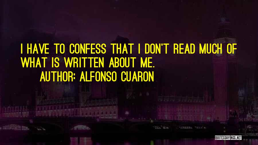 Alfonso Cuaron Quotes 2020470