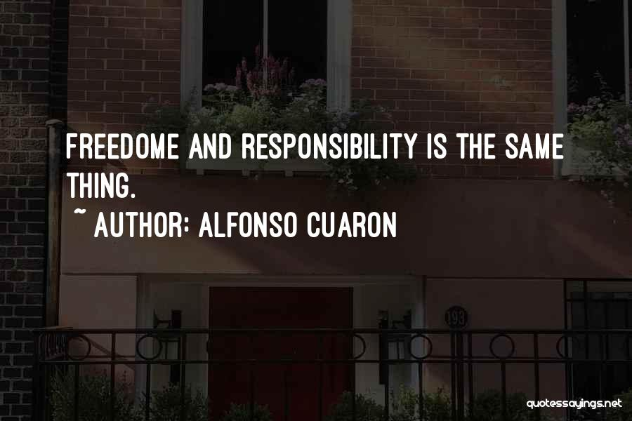Alfonso Cuaron Quotes 84585