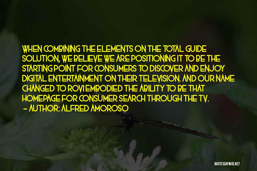 Alfred Amoroso Quotes 618219