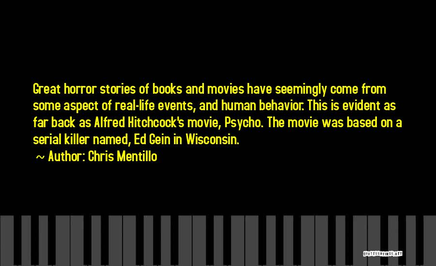 Alfred Hitchcock Movie Quotes By Chris Mentillo
