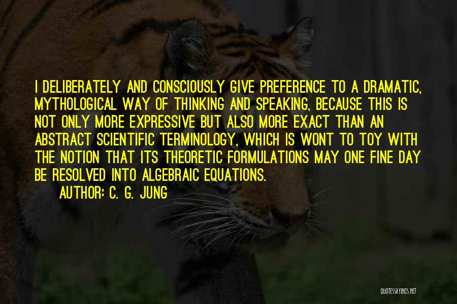Algebraic Quotes By C. G. Jung