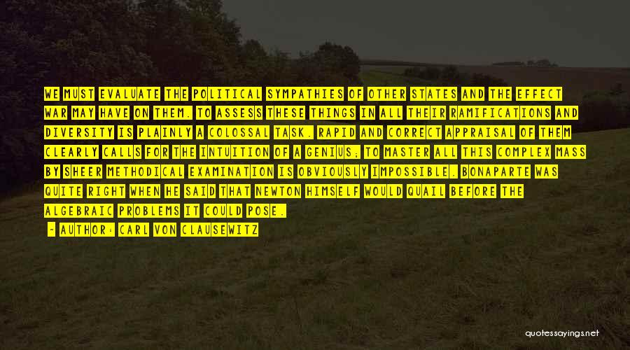 Algebraic Quotes By Carl Von Clausewitz