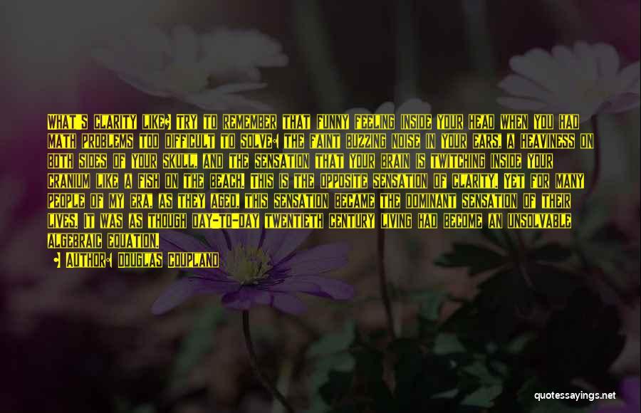 Algebraic Quotes By Douglas Coupland