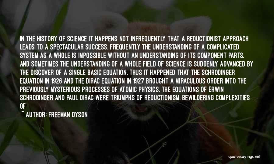 Algebraic Quotes By Freeman Dyson