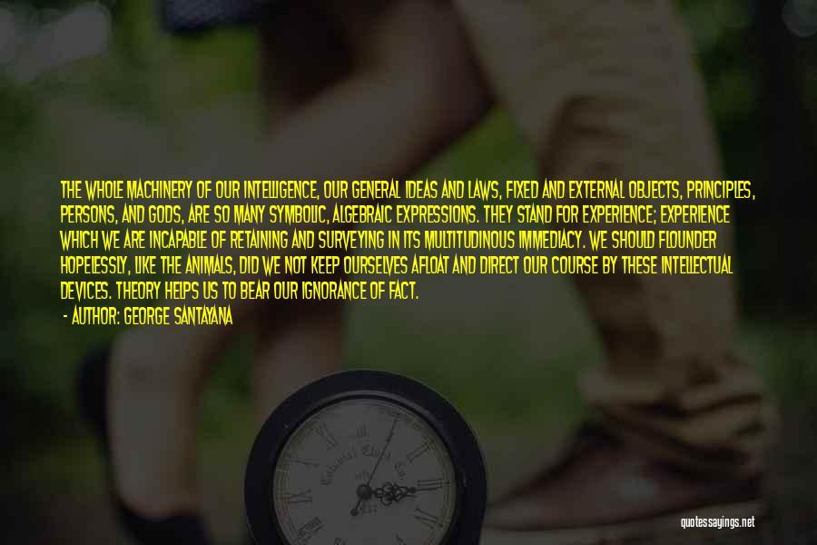 Algebraic Quotes By George Santayana
