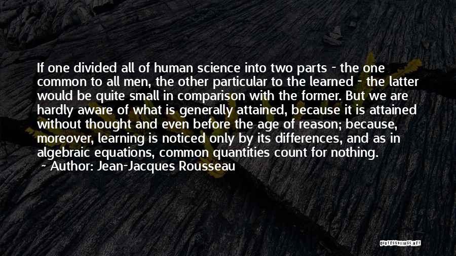 Algebraic Quotes By Jean-Jacques Rousseau