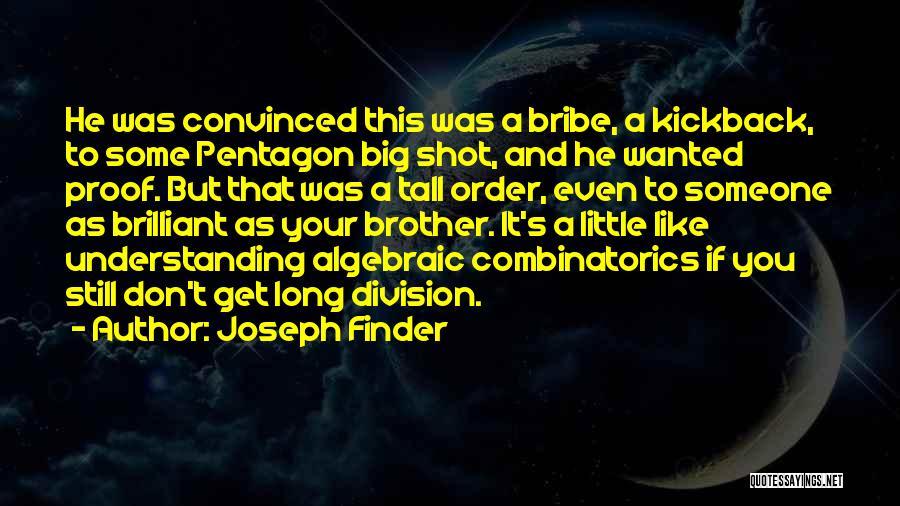 Algebraic Quotes By Joseph Finder