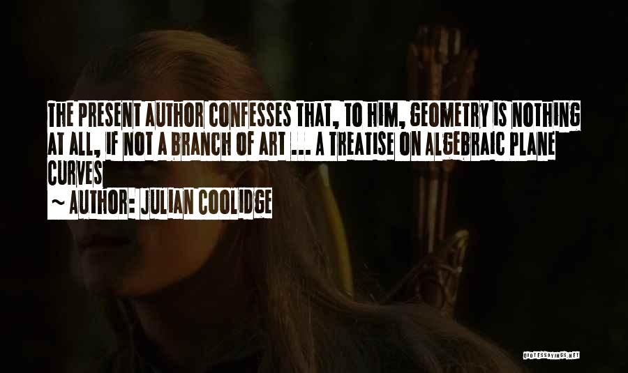 Algebraic Quotes By Julian Coolidge