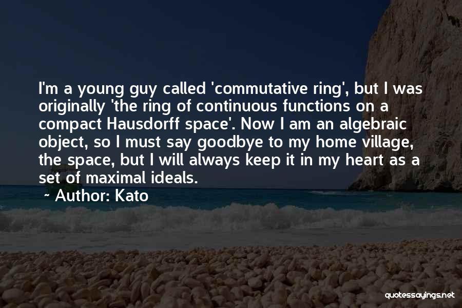 Algebraic Quotes By Kato