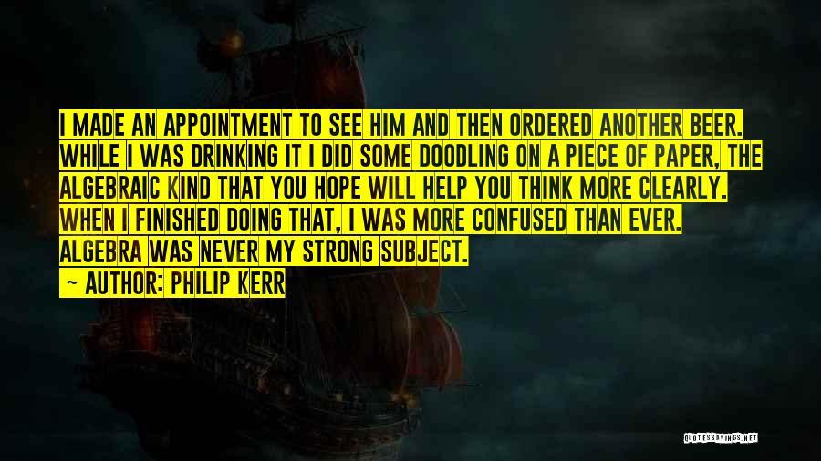 Algebraic Quotes By Philip Kerr
