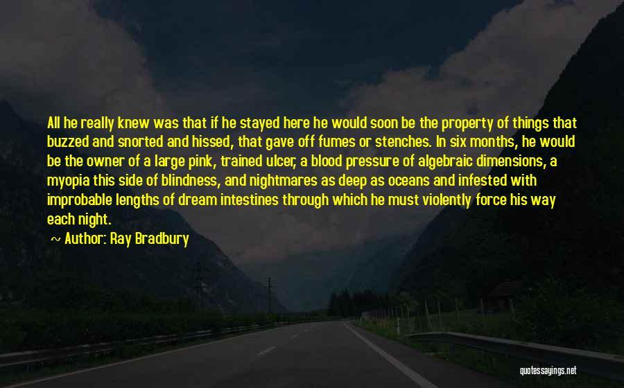 Algebraic Quotes By Ray Bradbury