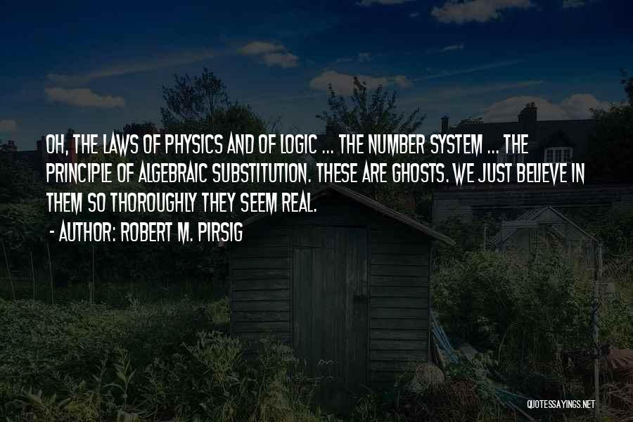 Algebraic Quotes By Robert M. Pirsig