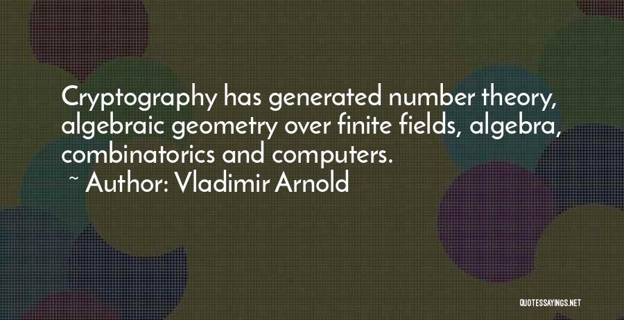 Algebraic Quotes By Vladimir Arnold
