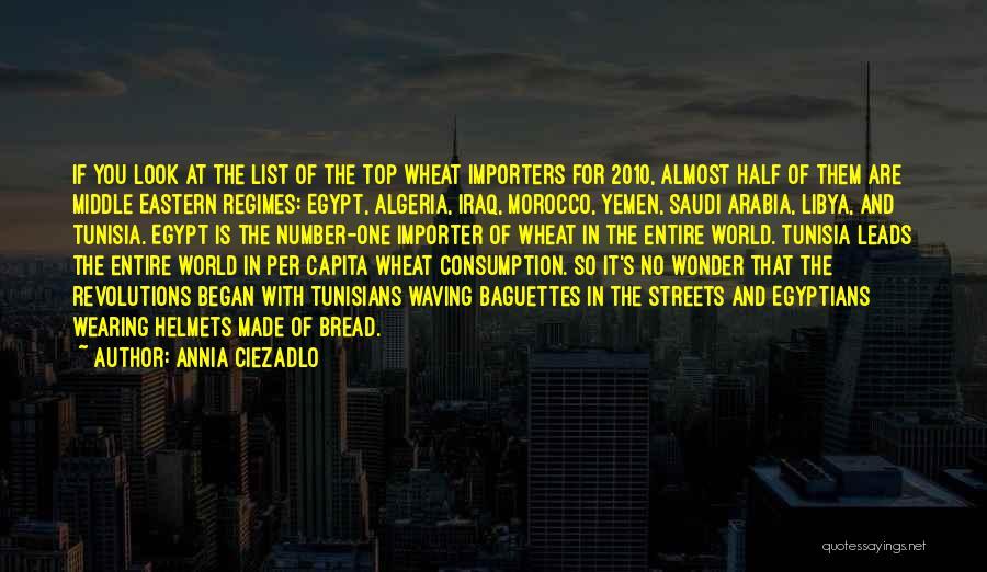 Algeria Quotes By Annia Ciezadlo