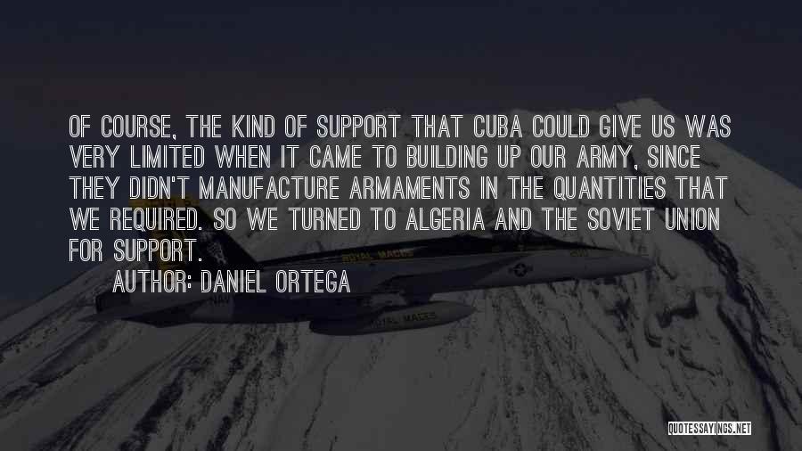 Algeria Quotes By Daniel Ortega