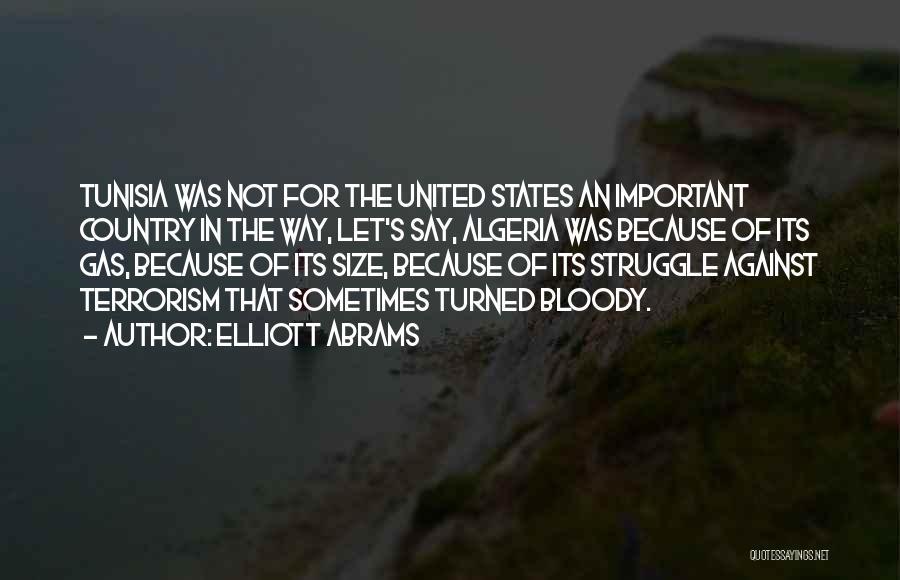 Algeria Quotes By Elliott Abrams