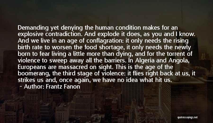 Algeria Quotes By Frantz Fanon