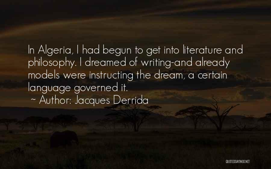 Algeria Quotes By Jacques Derrida