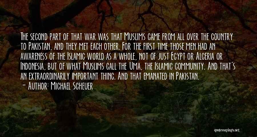 Algeria Quotes By Michael Scheuer