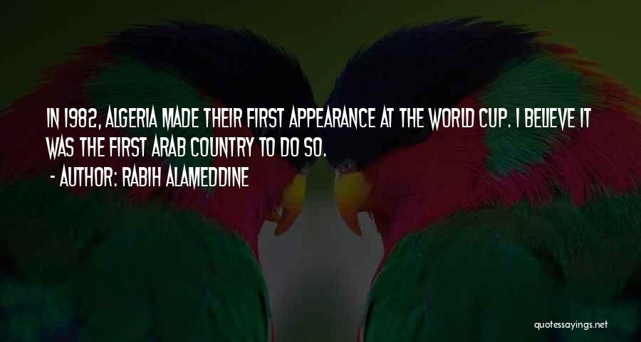 Algeria Quotes By Rabih Alameddine