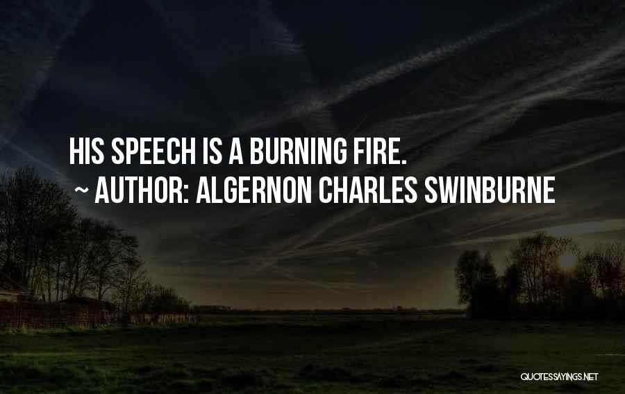 Algernon Charles Swinburne Quotes 1112156
