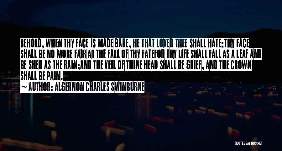 Algernon Charles Swinburne Quotes 1189494