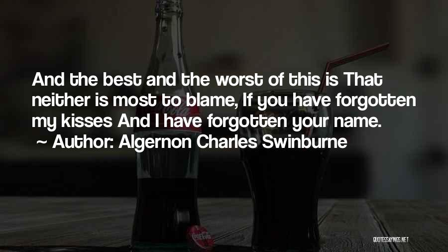Algernon Charles Swinburne Quotes 1265628