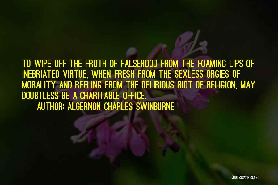 Algernon Charles Swinburne Quotes 1465023