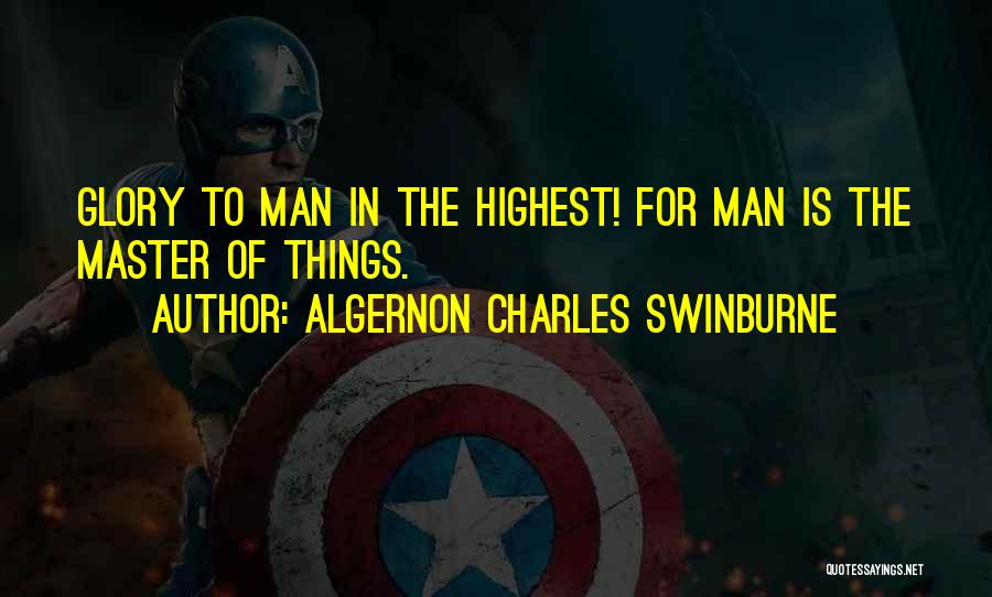 Algernon Charles Swinburne Quotes 1682047