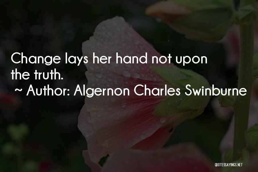 Algernon Charles Swinburne Quotes 1689390