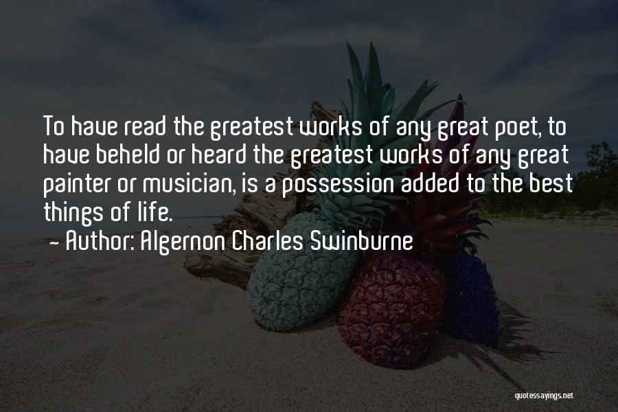 Algernon Charles Swinburne Quotes 183876