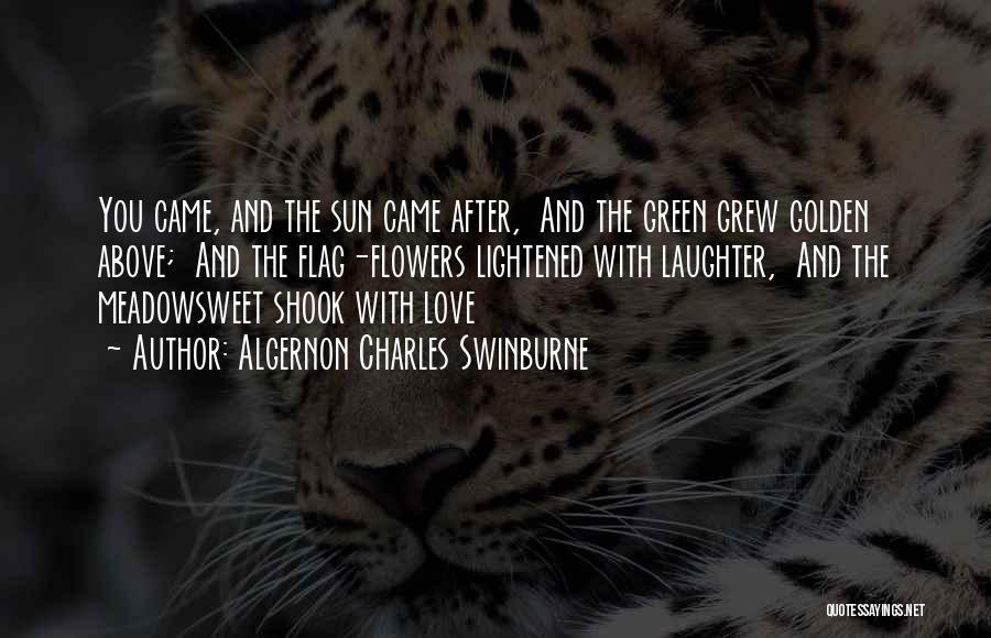 Algernon Charles Swinburne Quotes 1975594