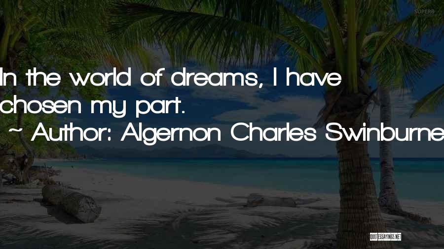 Algernon Charles Swinburne Quotes 198304