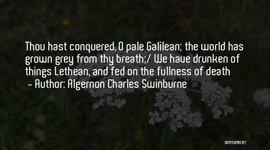 Algernon Charles Swinburne Quotes 2136412