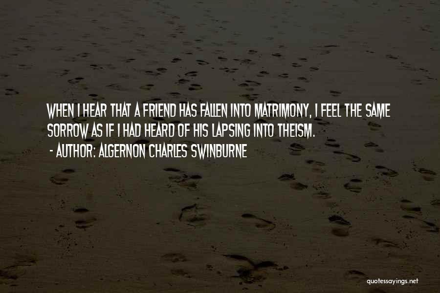 Algernon Charles Swinburne Quotes 260536