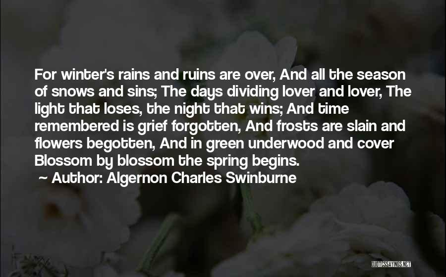 Algernon Charles Swinburne Quotes 301394