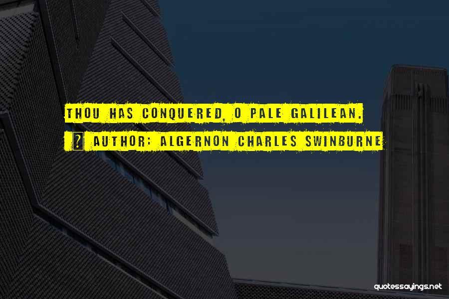 Algernon Charles Swinburne Quotes 353439