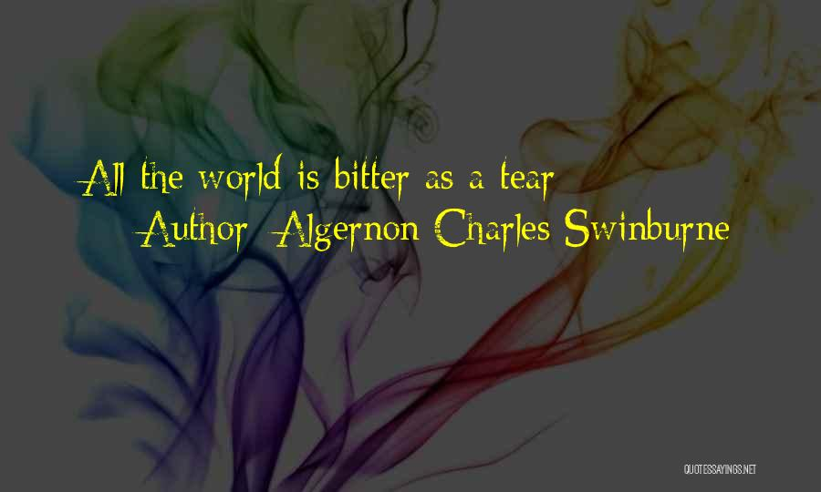 Algernon Charles Swinburne Quotes 499435