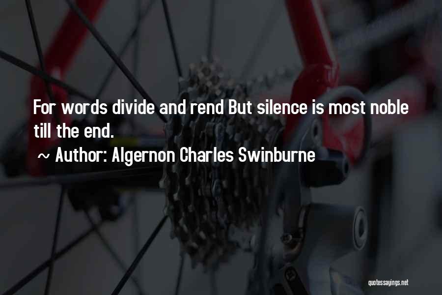 Algernon Charles Swinburne Quotes 522652