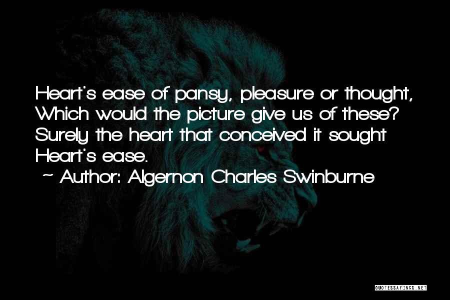 Algernon Charles Swinburne Quotes 702442