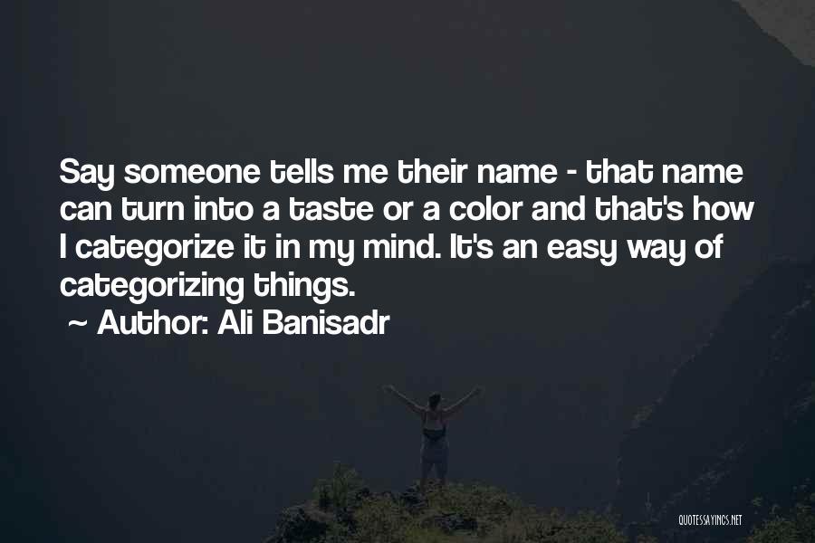 Ali Banisadr Quotes 134060