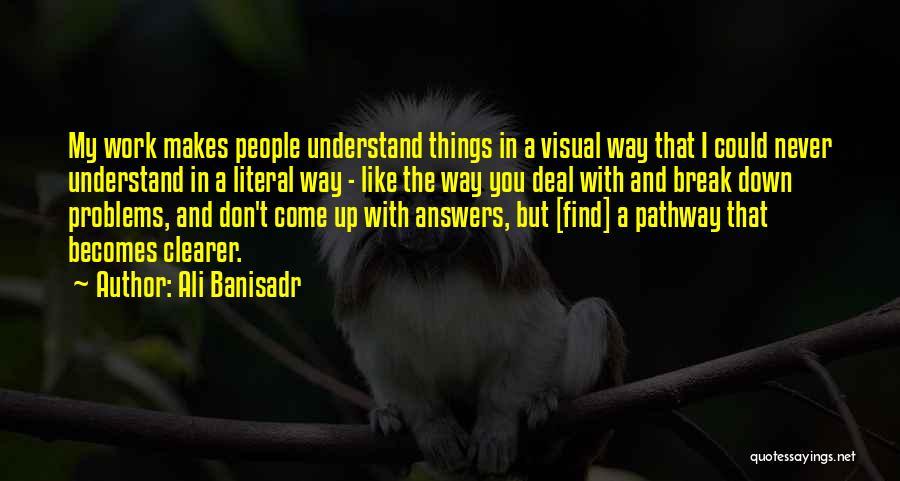 Ali Banisadr Quotes 394109