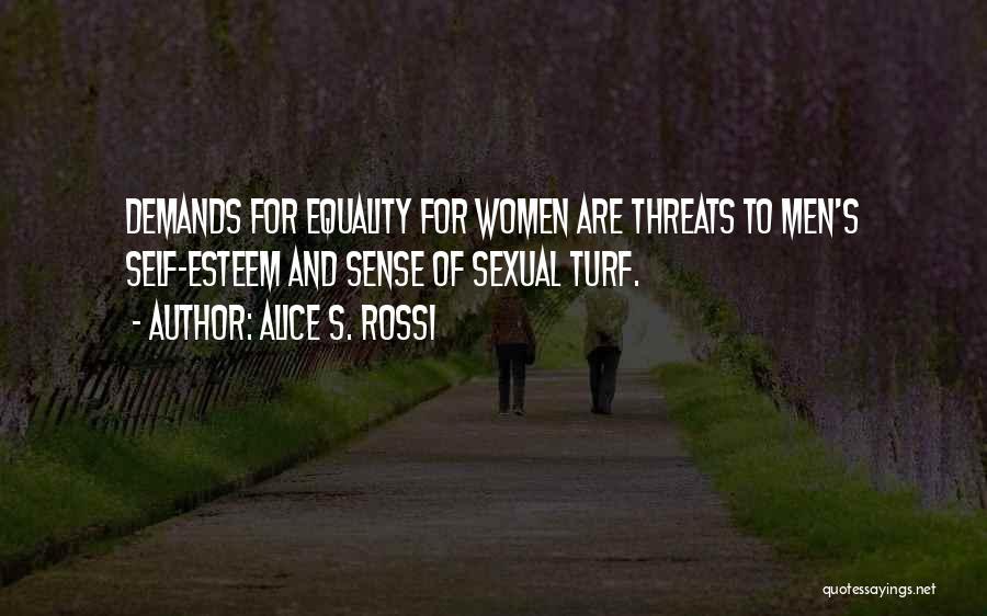 Alice S. Rossi Quotes 996046