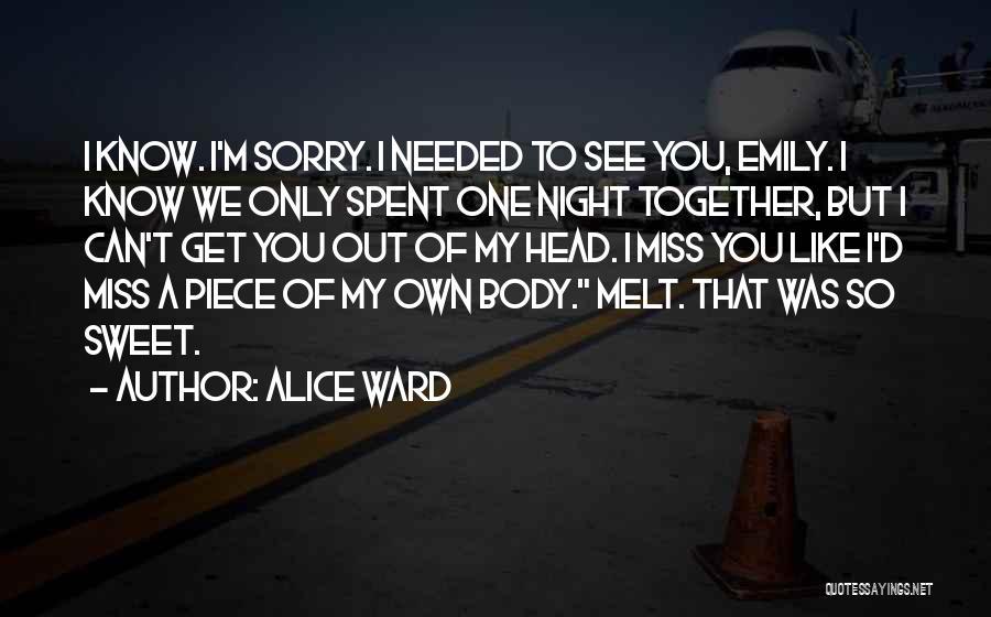 Alice Ward Quotes 138346