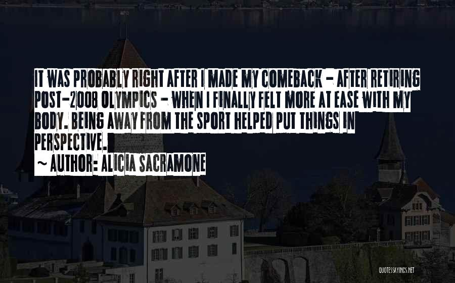 Alicia Sacramone Quotes 1537347