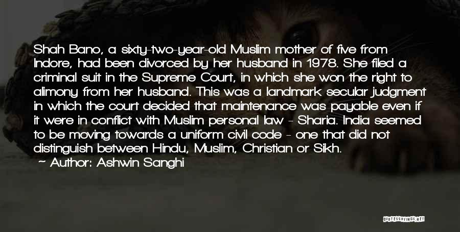 Alimony Quotes By Ashwin Sanghi